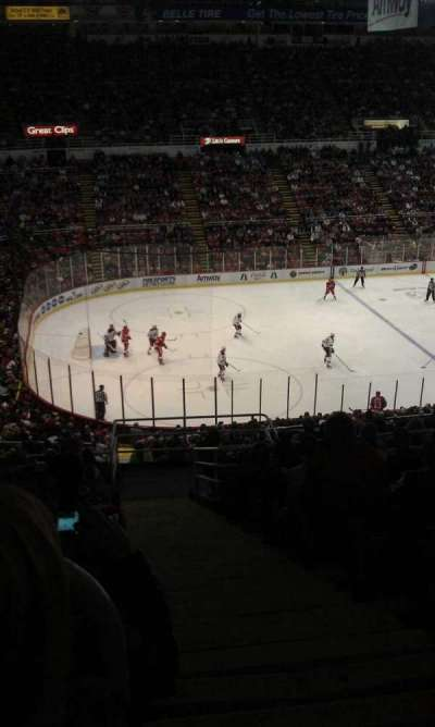 Joe Louis Arena section 225a
