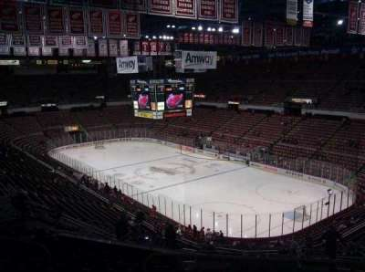Joe Louis Arena section 203B