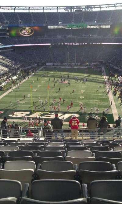 Metlife Stadium, section: 250B, row: 11