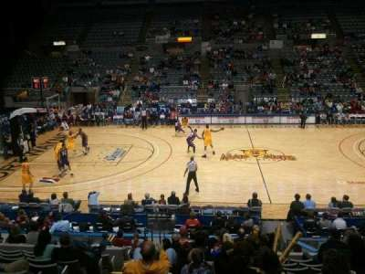 Allen County War Memorial Coliseum section 215