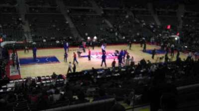 The Palace of Auburn Hills section 115