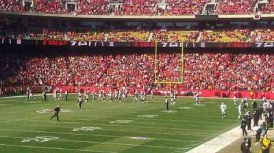 Arrowhead Stadium section 107
