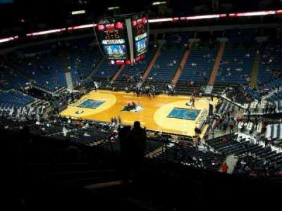 Target Center, section: 228, row: L, seat: 9