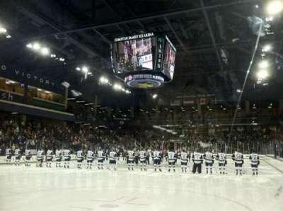 Compton Family Ice Arena, section: 17, row: 1, seat: Q12