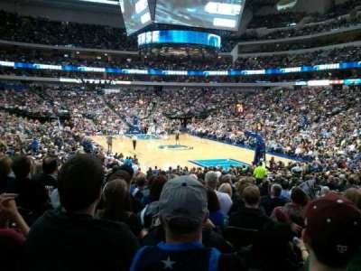 American Airlines Center, section: 114, row: P, seat: 11