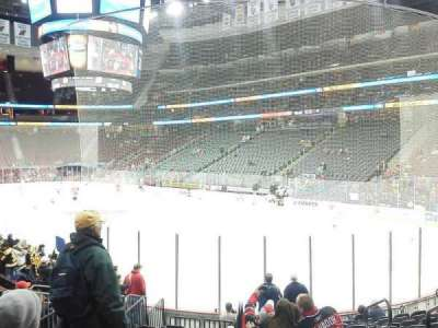 Prudential Center, section: 22, row: 13, seat: 3