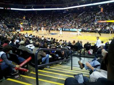 Oracle Arena section 110