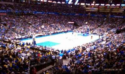 Chesapeake Energy Arena, section: 227, row: A