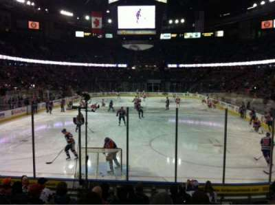 Northlands Coliseum, section: 110, row: 11, seat: 6