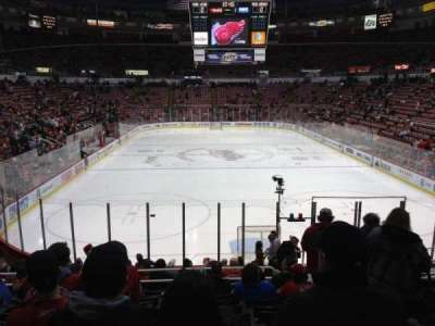 Joe Louis Arena section 115