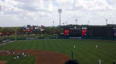 Champion Stadium, section: 208, row: q, seat: 3