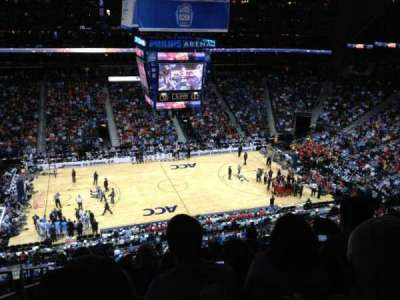 Philips Arena, section: 311, row: K, seat: 20