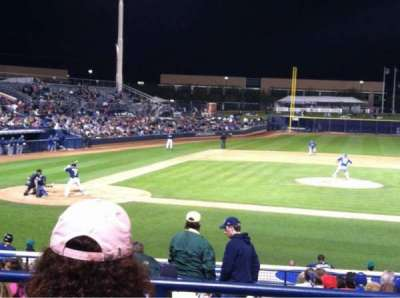 Peoria Sports Complex, section: 210, row: DD, seat: 4
