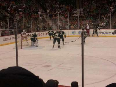 Xcel Energy Center, section: 118, row: 8, seat: 4