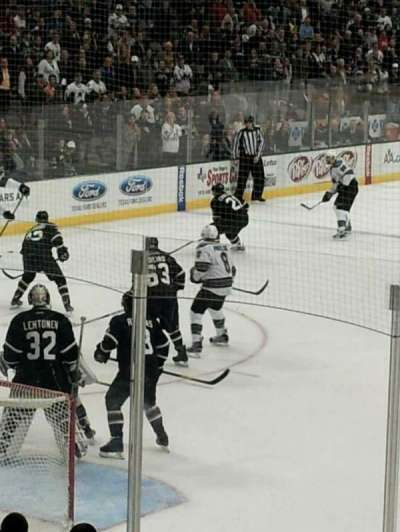 American Airlines Center, section: 121, row: M, seat: 14 14