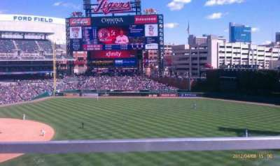 Comerica Park section 216