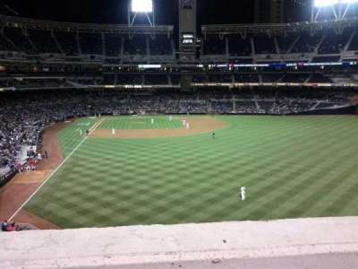 PETCO Park, section: 227, row: 1, seat: 3