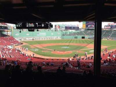Fenway Park, section: Grandstand 20, row: 15, seat: 10