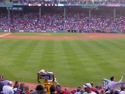 Fenway Park, section: Right Field Box 88, row: SS, seat: 14