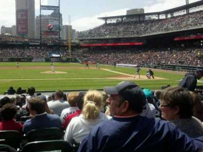 Comerica Park, section: 133, row: 19, seat: 5