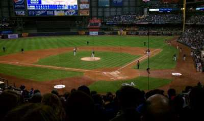 Miller Park, section: 220, row: 9, seat: 6