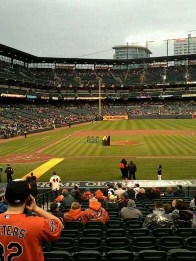 Oriole Park at Camden Yards section 24