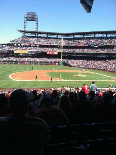 Citizens bank park  section 132