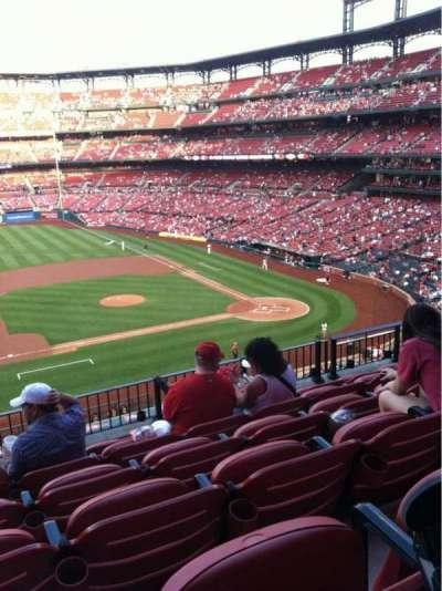 Busch Stadium, section: 257, row: 6, seat: 14