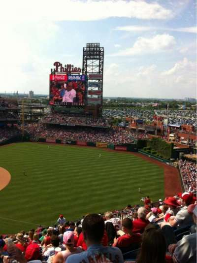 Citizens bank park  section 310
