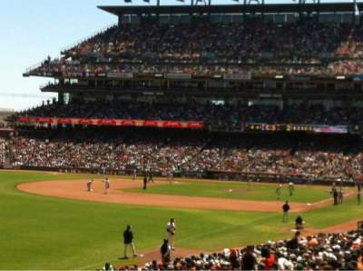 AT&T Park, section: 134, row: 33, seat: 3