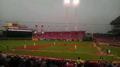 Great American Ball Park, section: 119, row: FF, seat: 15