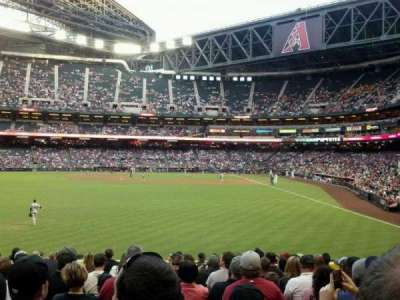 Chase Field, section: 140, row: 24, seat: 7