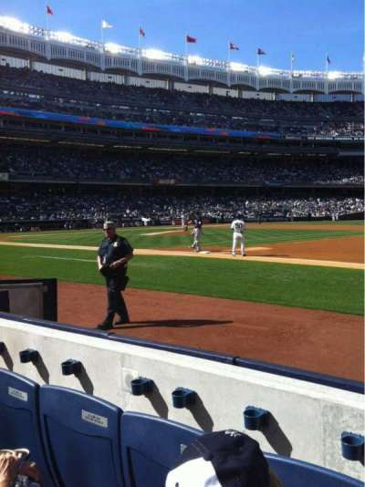 yankee stadium, section: 014B, row: 1