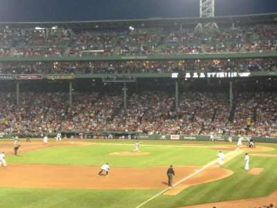 Fenway Park, section: Grandstand 32, row: 7, seat: 9
