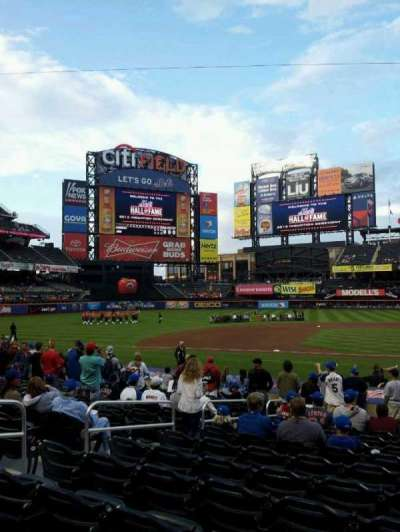Citi Field section 121