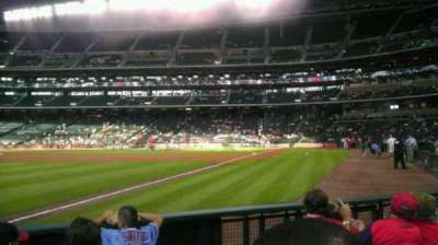 Minute Maid Park, section: 106, row: 5, seat: 8