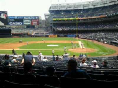 Yankee Stadium, section: 122, row: 29, seat: 11
