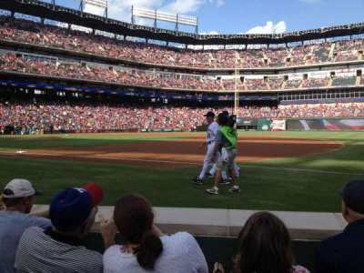 Globe Life Park in Arlington, section: 36, row: 1, seat: 7