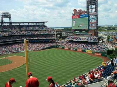 Citizens Bank Park, section: 306, row: 18, seat: 9