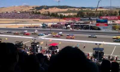 Sonoma Raceway, section: main grandstand, row: 39, seat: 3