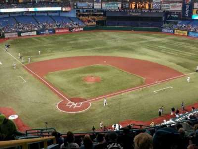 Tropicana Field, section: 304, row: M, seat: 3