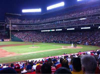 Globe Life Park in Arlington, section: 18, row: 20, seat: 5