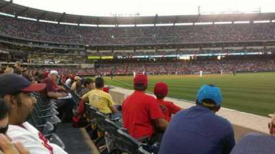 Angel Stadium, section: F131, row: B, seat: 13