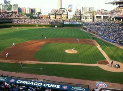 Wrigley Field section 415