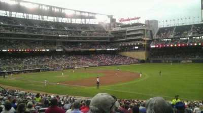 Target Field section 104