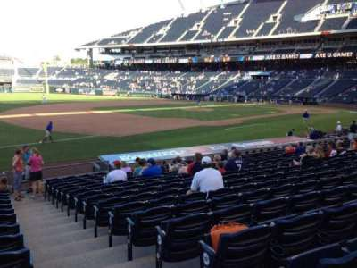 Kauffman Stadium, section: 115, row: S, seat: 11