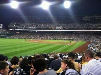 PNC Park, section: 131, row: L , seat: 20