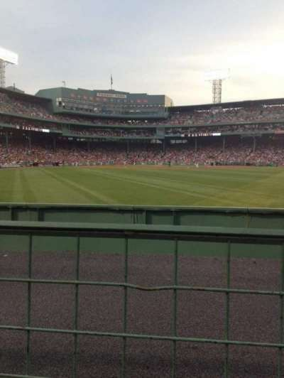 Fenway Park section Bleacher 41