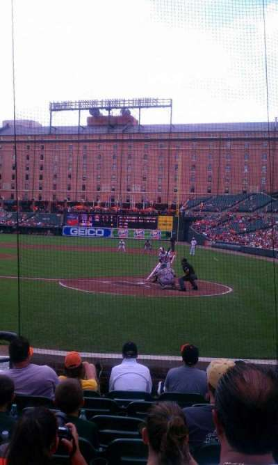 Oriole Park at Camden Yards, section: 44, row: 8, seat: 5