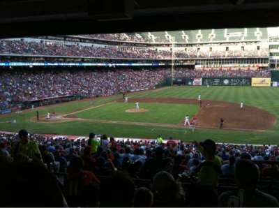 Globe Life Park in Arlington, section: 134, row: 37, seat: 17